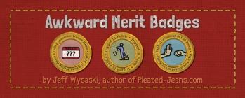Awkward Merit Badges Cover Image