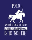 Polo Another Great Activity Where Your Main Goal Is to