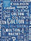 Colton Composition Notebook Wide Ruled Cover Image