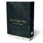 The Night Sky: Fifty Postcards (50 designs; archival images, NASA ephemera, photographs, and more in a gold foil stamped keepsake box;) Cover Image
