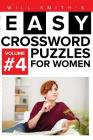 Easy Crossword Puzzles For Women - Volume 4 Cover Image