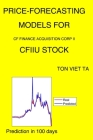 Price-Forecasting Models for Cf Finance Acquisition Corp II CFIIU Stock Cover Image