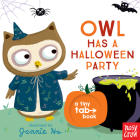 Owl Has a Halloween Party: A Tiny Tab Book Cover Image