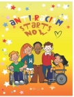 Antiracism starts now: coloring book for kids Cover Image