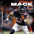 Chicago Bears Khalil Mack 2021 12x12 Player Wall Calendar Cover Image