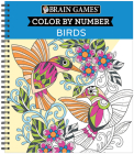 Brain Games - Color by Number: Birds Cover Image