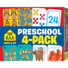 Preschool Flash Card 4-Pack (Flash Cards) Cover Image