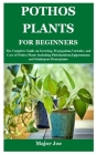 Pothos Plants for Beginners: The Complete Guide on Growing, Propagation, Varieties, and Care of Pothos Plants Including Philodendron, Epipremnum an Cover Image