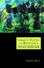 Israels Poetry of Resistance: Africana Perspectives on Early Hebrew Verse Cover Image