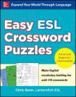 Easy ESL Crossword Puzzles Cover Image