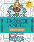 Jim Shore Angel Coloring Book: 50+ Glorious Folk Art Angel Designs for Inspirational Coloring Cover Image
