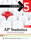 5 Steps to a 5: AP Statistics 2022 Cover Image