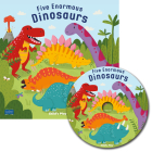 Five Enormous Dinosaurs [With CD (Audio)] (Classic Books with Holes 8x8 with CD) Cover Image