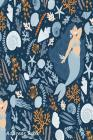 Address Book: For Contacts, Addresses, Phone, Email, Note, Emergency Contacts, Alphabetical Index With Cute Seamless Pattern Mermaid Cover Image