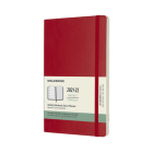 Moleskine 2021-2022 Weekly Planner, 18M, Large, Scarlet Red, Soft Cover (5 x 8.25) Cover Image