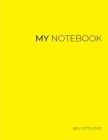 My NOTEBOOK: 101 Pages Dotted Diary Journal - Block Notes Cover Image