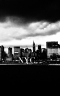 Iconic Manhattan skyline Night Writing Draawing Journal Cover Image