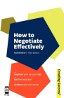 How to Negotiate Effectively (Creating Success #56) Cover Image