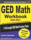 GED Math Workbook 2020-2021: The Most Comprehensive Math Practice Book to ACE the GED Math test Cover Image