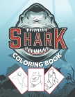 Shark Coloring Book: for kids to color Big sharks under the sea . the perfect gift for kids Cover Image