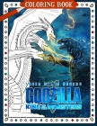 Godzilla Coloring Book: King Of The Monsters Cover Image