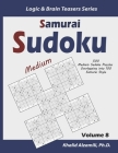 Samurai Sudoku: 500 Medium Sudoku Puzzles Overlapping into 100 Samurai Style Cover Image