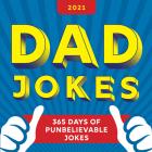 2021 Dad Jokes Boxed Calendar: 365 Days of Punbelievable Jokes Cover Image