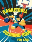 Basketball Coloring Book Cover Image