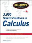 Schaum's Outline of 3000 Solved Problems in Calculus Cover Image