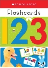 123 Flashcards: Scholastic Early Learners (Flashcards) Cover Image