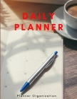 Daily Planner - Schedule, Top Priorities, To Do List, Notes Cover Image