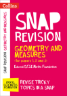 Collins Snap Revision – Geometry and Measures (for papers 1, 2 and 3): Edexcel GCSE Maths Foundation Cover Image