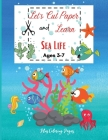 Let's Cut Paper and Learn Sea Life Cover Image