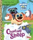 Counting Sheep (Disney Junior Puppy Dog Pals) (Little Golden Book) Cover Image