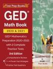 GED Math Book 2020 and 2021: GED Mathematics Preparation 2020-2021 with 2 Complete Practice Tests [3rd Edition] Cover Image