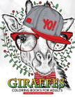 Giraffe Coloring Books for Adults: Relaxing Coloring Book For Grownups Cover Image