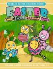 Toddler Easter Coloring Books Easter Emoji Easter Coloring Book: Toddler Easter Coloring Books Ages 1-3 Cover Image