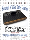 Circle It, Evolution of Video Game Consoles, Word Search, Puzzle Book Cover Image