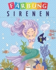 Färbung sirenen - Band 1: Malbuch für Kinder von - 25 Zeichnungen Cover Image