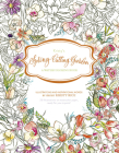 Kristy's Spring Cutting Garden: A Watercoloring Book (Kristy's Cutting Garden #1) Cover Image