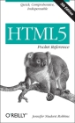 Html5 Pocket Reference: Quick, Comprehensive, Indispensable (Pocket Reference (O'Reilly)) Cover Image