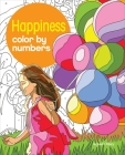 Happiness Color by Numbers Cover Image