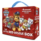 The Little Red Rescue Box (PAW Patrol): 4 Board Books Cover Image
