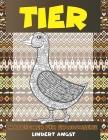 Malbücher für Erwachsene - Lindert Angst - Tier Cover Image
