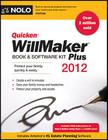Quicken Willmaker Plus 2012 Edition: Book & Software Kit Cover Image