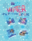 Winter Coloring Book Cover Image