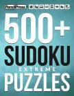 500+ Sudoku Puzzles Book Extreme: Extreme Sudoku Puzzle Book for adults (with a Cover Image