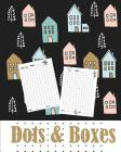 Dots and Boxes: Game Book (110 Games): Travel Games -Logic & Brain Teasers Cover Image