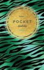 Pocket Sudoku: 158 Easy Sudoku Puzzles Small Sudoku Book Fun Gift Emerald & Gold Cover Image