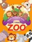 Travel colouring book for toddlers Zoo: colouring travel kit zoo animal colouring book for Kids Ages 2- 5 Cover Image